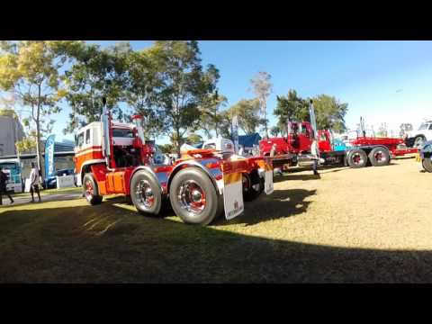 trip in ute to Sydney Classic truck show 2017