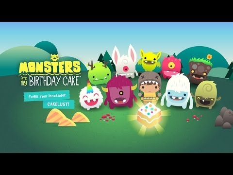 Monsters Ate My Birthday Cake Android GamePlay Trailer (HD) [Game For Kids]