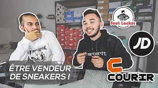 ÊTRE VENDEUR DE SNEAKERS - NOTRE EXPÉRIENCE ! (Foot Locker, JD Sports, Courir..)