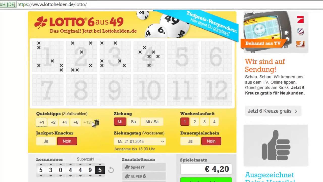 Gratis Lotto Spielen Seriös