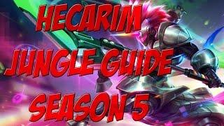 Hecarim Jungle Guide Season 5 - UPDATE FOR S6 IN THE DESCRIPTION