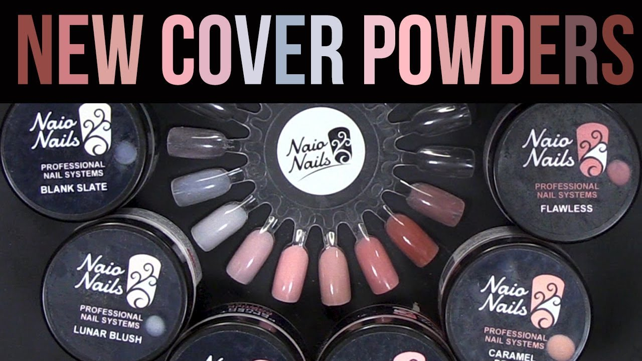 Naio S Brand New Nude Acrylic Powder Collection