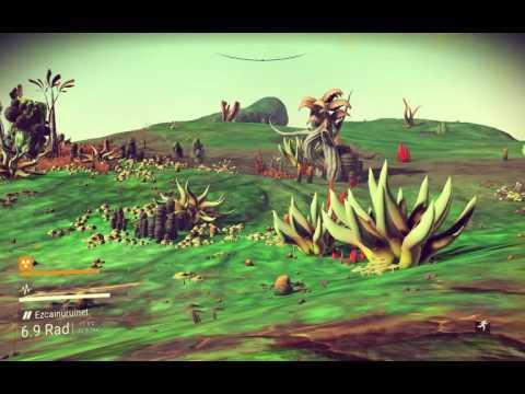 No Man's Sky - System Ragkviviknirobin: Moon Ezcainuruinet (of PraydoseGoto Odvin) [copper mining]