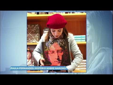 Hora da Venenosa: Paula Fernandes faz mistério sobre suposto namorado