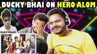 Indian Reaction On Ducky Bhai Roast On Hero Alom | Krishna Views
