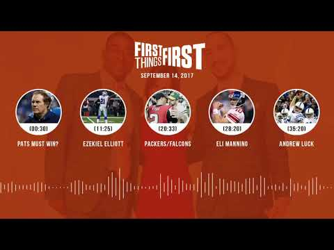 First Things First audio podcast(9.14.17) Cris Carter, Nick Wright, Jenna Wolfe | FIRST THINGS FIRST