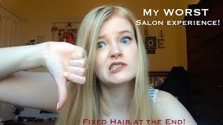 my worst salon experience ever and how i fixed my hair