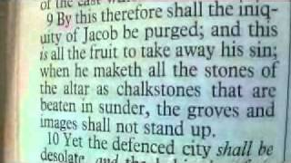 Isaiah 27 Holy Bible (King James)