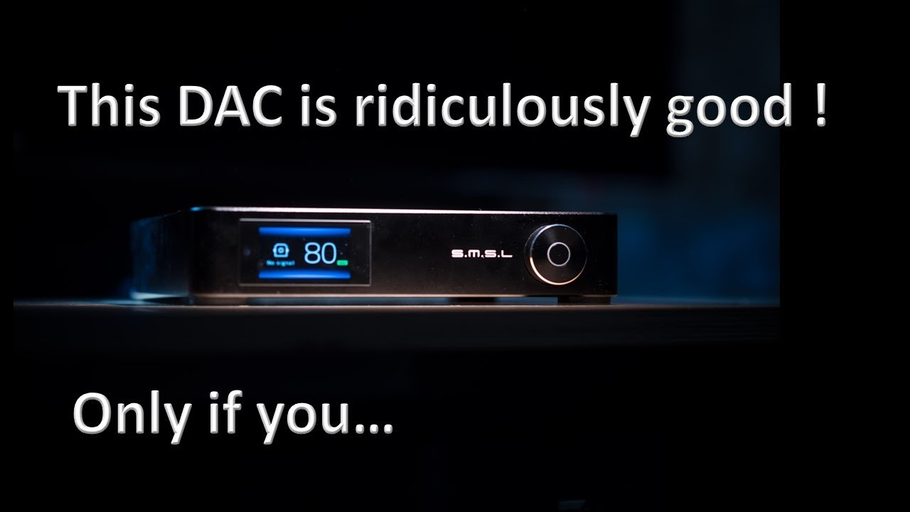 SMSL M400 DAC review. No MSG added.