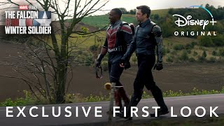 Marvel Studios' The Falcon and the Winter Soldier | Exclusive First Look | Disney+