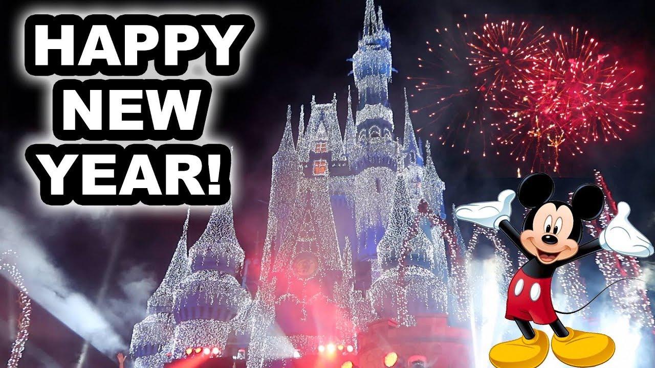 new years at disney world amazing