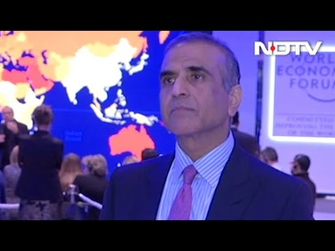 'India Stands Apart In A Good Place': Sunil Mittal To NDTV At Davos