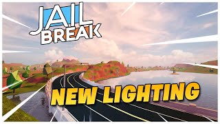Roblox Jailbreak Update info!| NEW LIGHTING UPDATE! TONIGHT!??! 💡