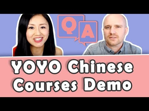 Q&A with Students and Yoyo Chinese Courses Demo | Learn Chinese with Yoyo Chinese