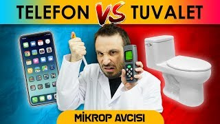 Everyday objects put in hygiene test: iPhone vs toilet seat