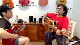 Basic remates por Solea #1/ Flamenco guitar lessons / Online learning Ruben Diaz
