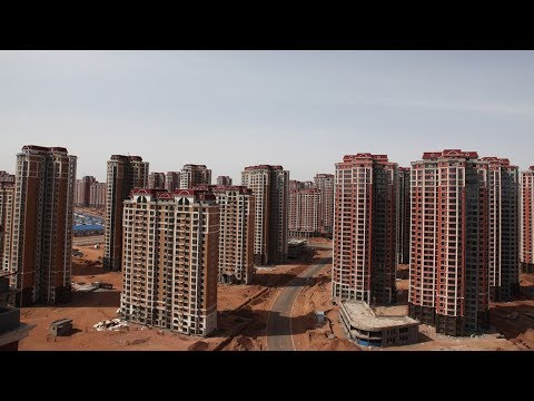 The World's Largest Abandoned City - Ordos