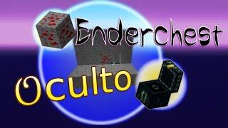 Ender Chest Oculto: Ativado com Minério de Redstone! | Minecraft | +Uma