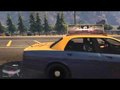 Grand Theft Auto V Online Taxi Rennen und Radlader Challange