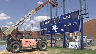 Outdoor Scoreboard Installation Video