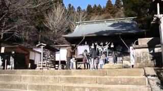 撮影日:2012年1月4日。みちのくの玄関口、福島県白河市にて。御...