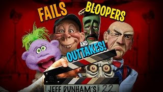 Fails, Bloopers, and Outtakes - 2016 COMPILATION | JEFF DUNHAM