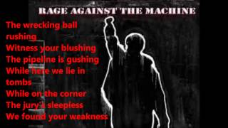Rage Against the Machine - Testify (lyrics)