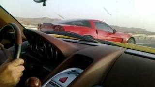 Carrera GT vs Corvette Z06