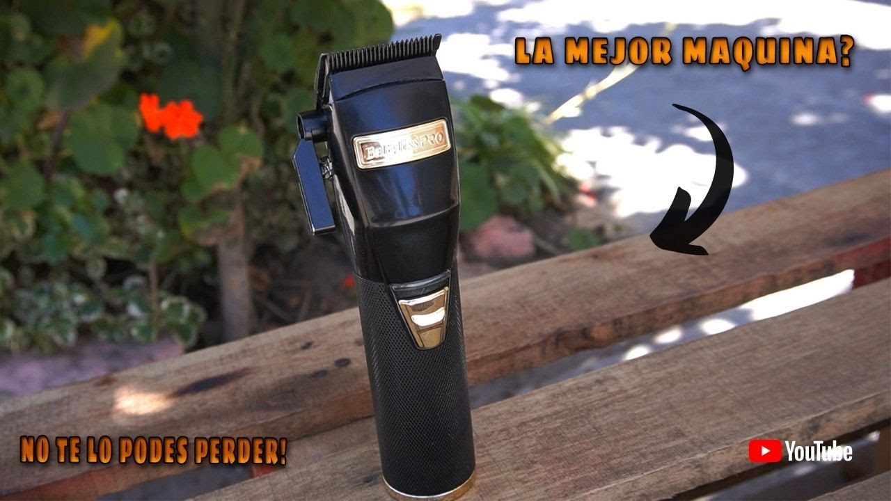 REVIEW DE LA BABYLISS BLACK FX🔥 (LA MEJOR MAQUINA INALAMBRICA?)