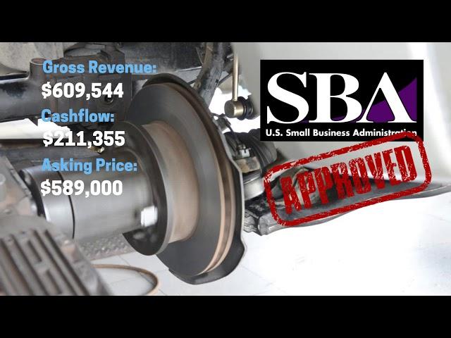 Profitable Miami Auto Repair Business - SBA APPROVED (10% Down)