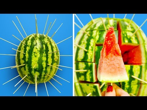 33 DELICIOUS FRUIT HACKS