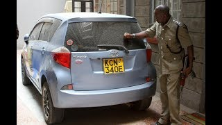 Police recover vehicle with similar registration number as that at the Dusit crime scene | Kenya