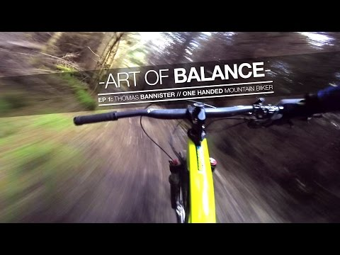 Amazing one-handed mountain biking - MBR
