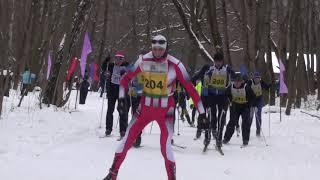 Лыжня России в Узловой 10 02 2018г