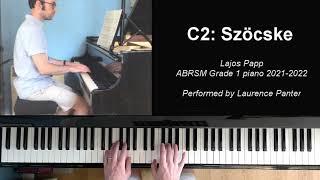 C:2 Szöcske (ABRSM Grade 1 piano 2021-2022)