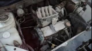 Очередной выпавший двигатель Datsun