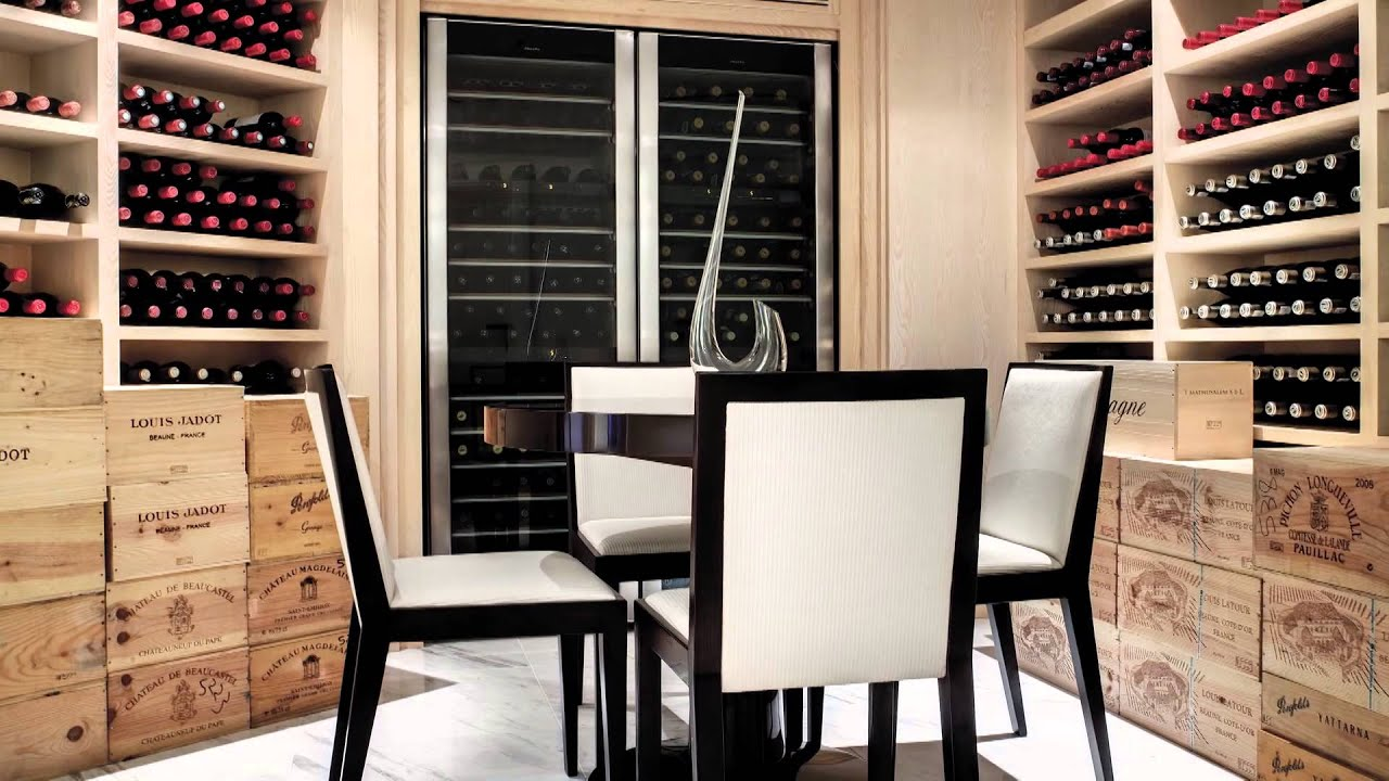 Wine Cellar and Bar Design - YouTube