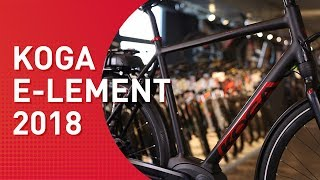 Koga E-Lement - 2018 - Trekking E-Bike