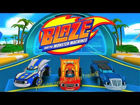 Blaze and the Monster Machines #11 Velocityville Level 1 ~ 8