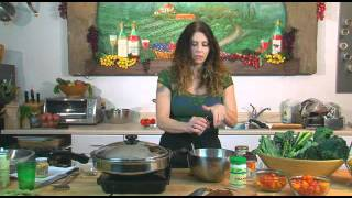 Kale Tempeh Saute Salad