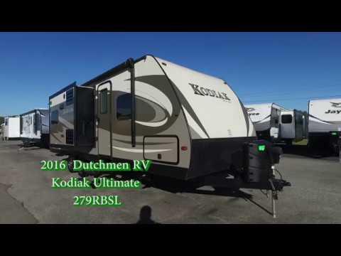 2016 Dutchmen RV Kodiak Ultimate 279RBSL