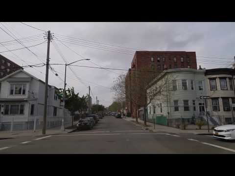 Driving from Jamaica to Astoria in Queens,New York