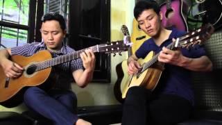 Thành phố buồn - Guitar Văn Anh & Văn Sáng Bk