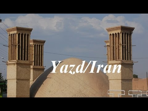 Iran/Yazd (Mud Ancient City,Walking-Tour) Part 45