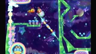 Kururin Squash! Gameplay Footage, Level 5-2 - Nintendo Gamecube Import Games