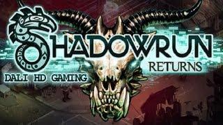 Shadowrun Returns PC Gameplay HD 1440p