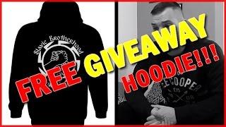 """FREE GIVEAWAY HOODIE!!!! """"Slavic brotherhood worldwide"""""""