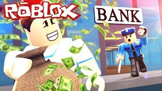I STOLE $99,999 FROM THE BANK! AND I WAS THROWN INTO JAIL! - Roblox