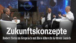 Zukunftskonzepte - Rico Albrecht & Oliver Janich bei SteinZeit