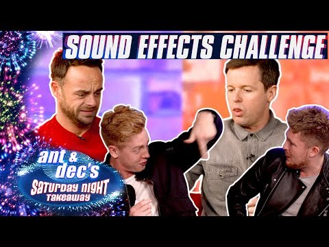 And & Dec Vs Mikey Pearce & Josh Pieters: The Sound Effects Challenge!